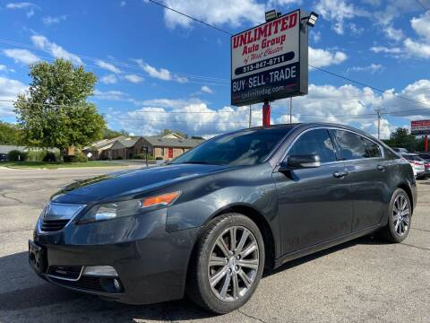 2014 Acura TL for sale at Unlimited Auto Group in West Chester OH