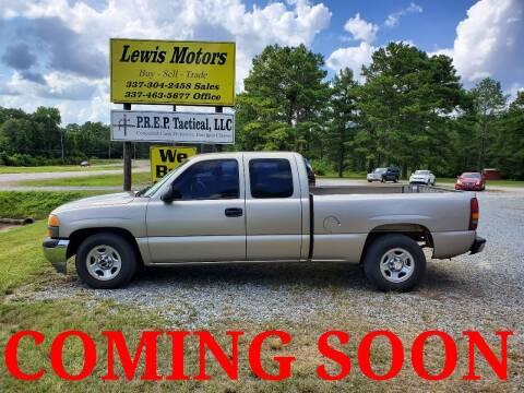2002 GMC Sierra 1500 for sale at Lewis Motors LLC in Deridder LA