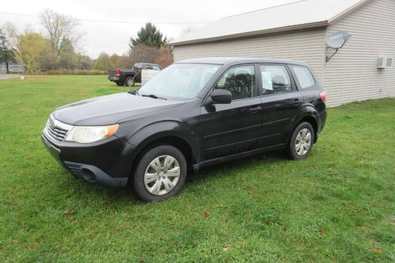 2009 Subaru Forester for sale at Clearwater Motor Car in Jamestown NY