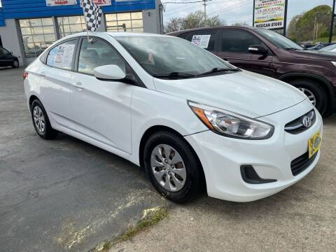 2016 Hyundai Accent for sale at Brian Jones Motorsports Inc in Danville VA