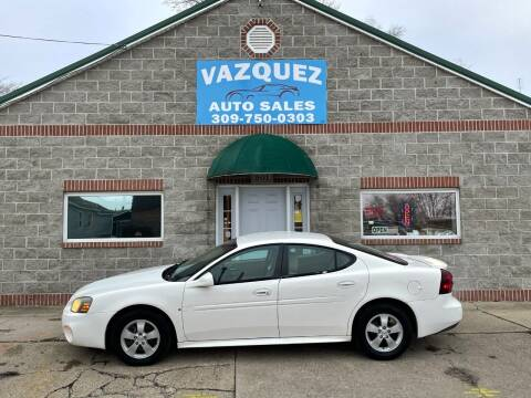 2007 Pontiac Grand Prix for sale at VAZQUEZ AUTO SALES in Bloomington IL