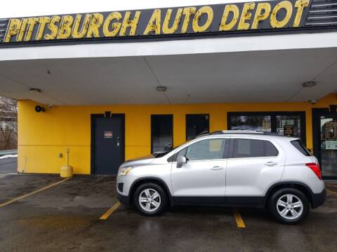2016 Chevrolet Trax for sale at Pittsburgh Auto Depot in Pittsburgh PA