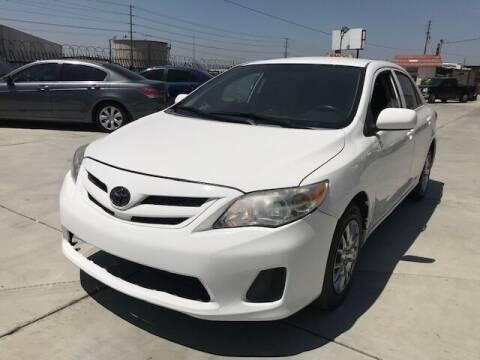 2013 Toyota Corolla for sale at GreenLight  Auto Sales in Modesto CA