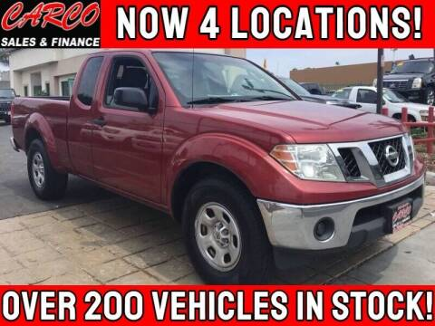 2009 Nissan Frontier for sale at CARCO SALES & FINANCE in Chula Vista CA