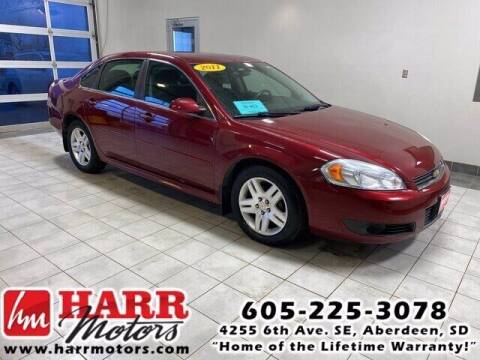 2011 Chevrolet Impala for sale at Harr's Redfield Ford in Redfield SD