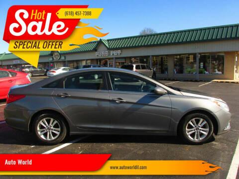 2012 Hyundai Sonata for sale at Auto World in Carbondale IL