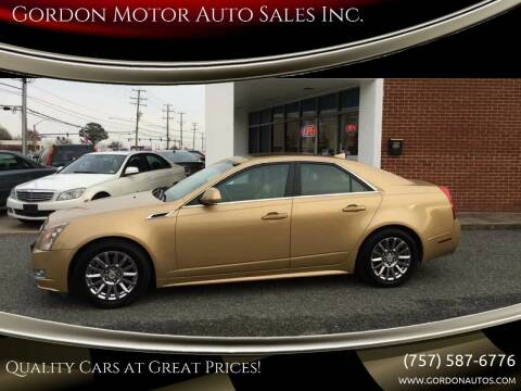 2013 Cadillac CTS for sale at Gordon Motor Auto Sales Inc. in Norfolk VA