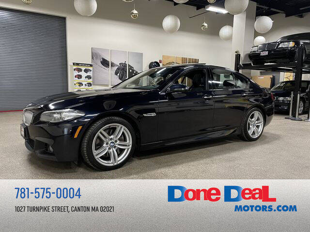 2014 BMW 5 Series for sale at DONE DEAL MOTORS in Canton MA