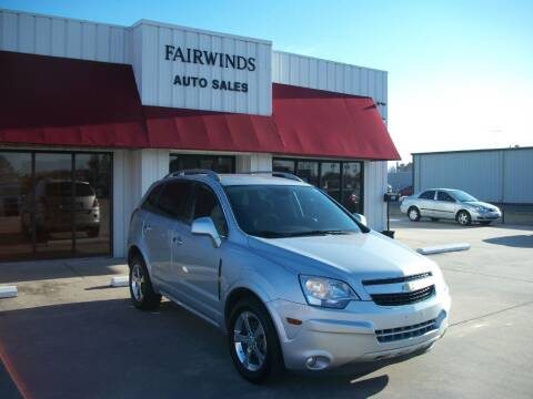 2012 Chevrolet Captiva Sport for sale at Fairwinds Auto Sales in Dewitt AR