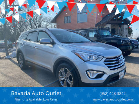 2014 Hyundai Santa Fe for sale at Bavaria Auto Outlet in Victoria MN