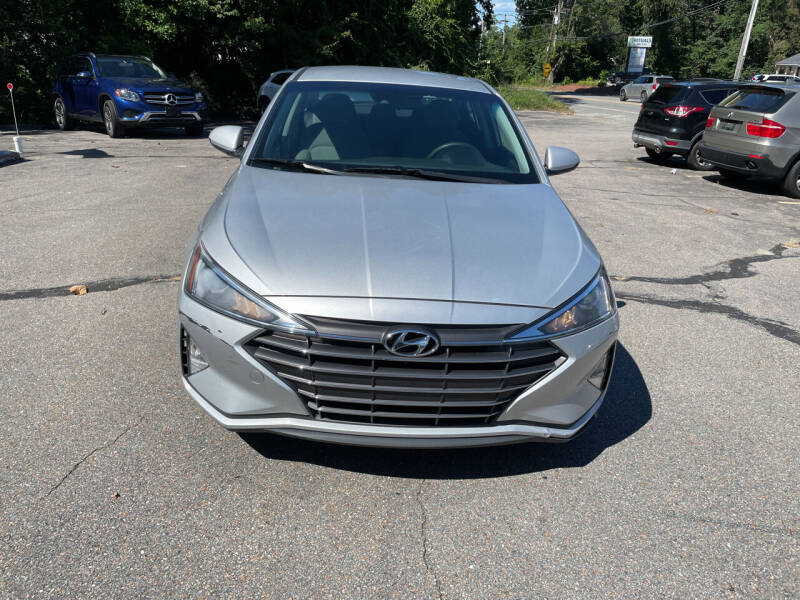 2019 Hyundai Elantra for sale at USA Auto Sales in Leominster MA