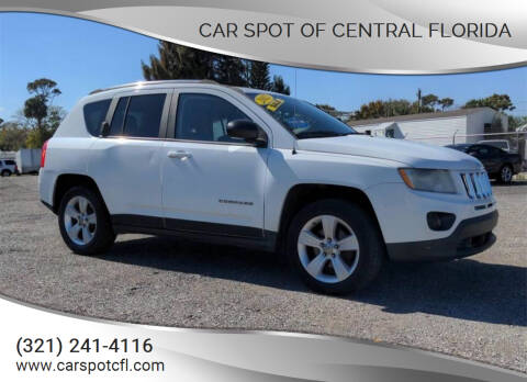 2012 Jeep Compass for sale at Car Spot Of Central Florida in Melbourne FL