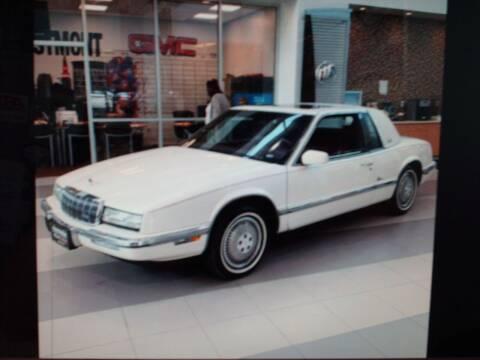 1991 Buick Riviera for sale at Bill Caito's Mann Motors in Warwick RI