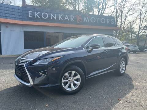 2016 Lexus RX 350 for sale at Ekonkar Motors in Scotch Plains NJ
