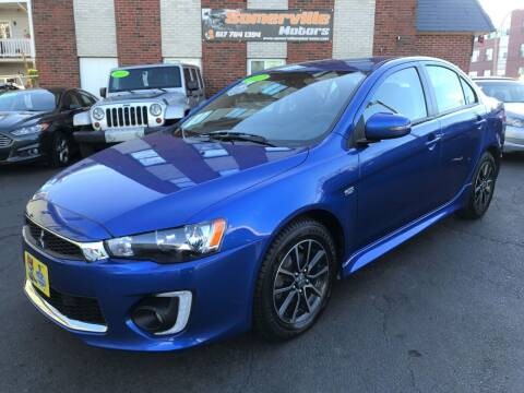 2017 Mitsubishi Lancer for sale at Somerville Motors in Somerville MA