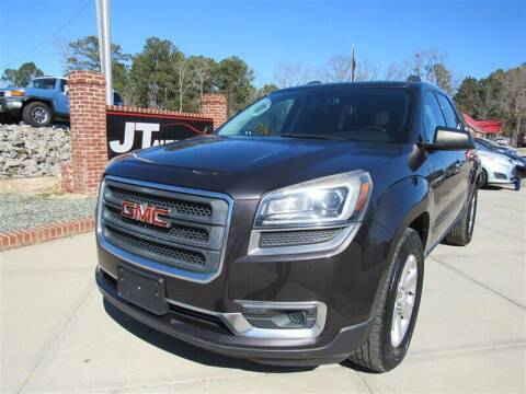2014 GMC Acadia for sale at J T Auto Group in Sanford NC