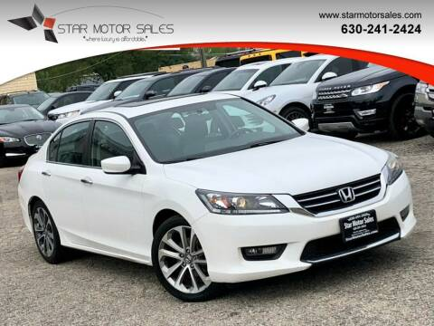 2015 Honda Accord for sale at Star Motor Sales in Downers Grove IL