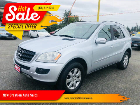 2006 Mercedes-Benz M-Class for sale at New Creation Auto Sales in Everett WA