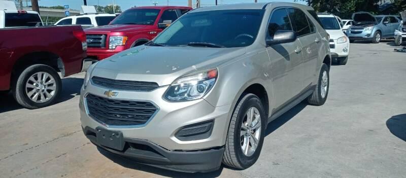 2016 Chevrolet Equinox for sale at AUTOTEX FINANCIAL in San Antonio TX