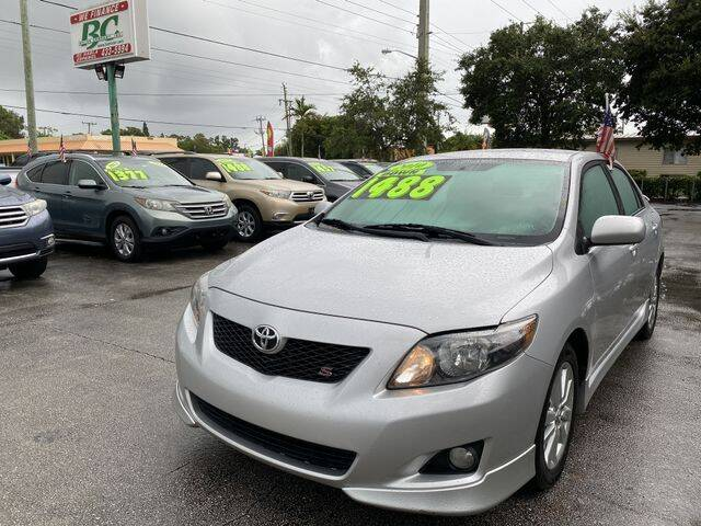 2010 Toyota Corolla for sale at BC Motors in West Palm Beach FL