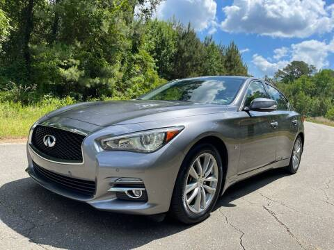 2015 Infiniti Q50 for sale at Carrera AutoHaus Inc in Clayton NC
