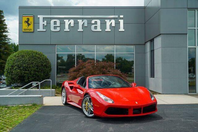 2017 Ferrari 488 Spider for sale in Greensboro, NC