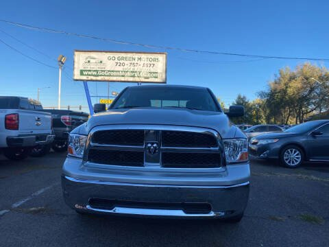 2010 Dodge Ram Pickup 1500 for sale at GO GREEN MOTORS in Lakewood CO