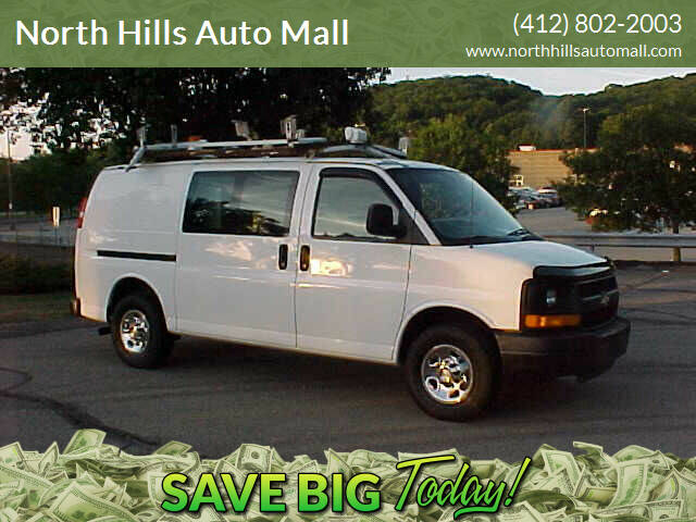 2009 Chevrolet Express Cargo for sale at North Hills Auto Mall in Pittsburgh PA