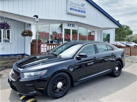 2014 Ford Taurus for sale at North Oakland Motors in Waterford MI