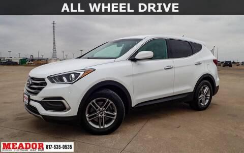 2018 Hyundai Santa Fe Sport for sale at Meador Dodge Chrysler Jeep RAM in Fort Worth TX