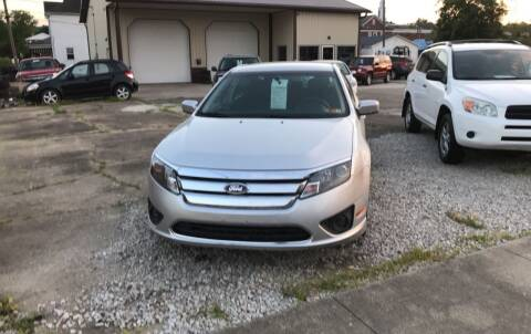 2011 Ford Fusion for sale at ADKINS PRE OWNED CARS LLC in Kenova WV