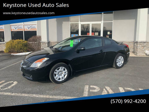 2009 Nissan Altima for sale at Keystone Used Auto Sales in Brodheadsville PA