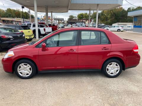 2010 Nissan Versa for sale at GRC OF KC in Gladstone MO