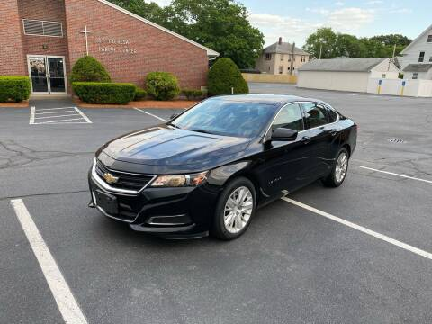 2014 Chevrolet Impala for sale at New England Cars in Attleboro MA