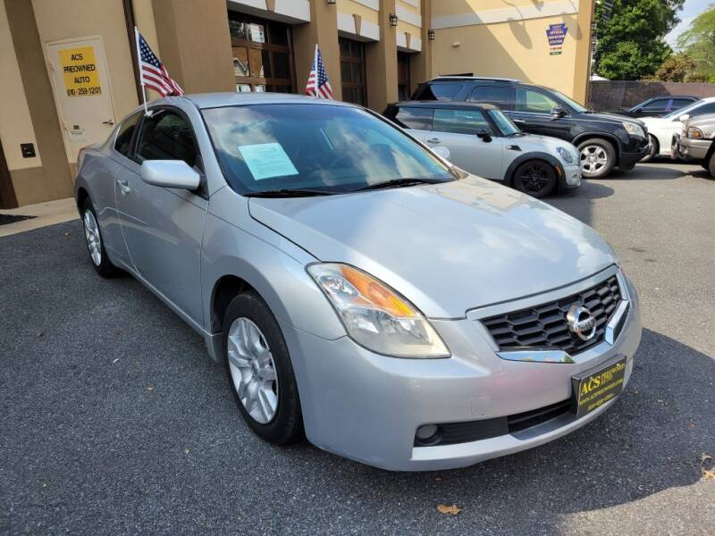 2009 Nissan Altima for sale at ACS Preowned Auto in Lansdowne PA
