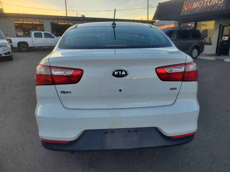 2016 Kia Rio LX 4dr Sedan 6A - Denver CO
