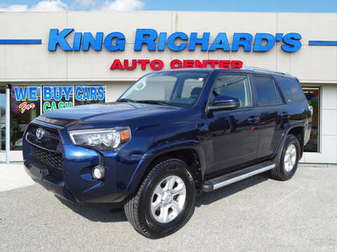 2015 Toyota 4Runner for sale at KING RICHARDS AUTO CENTER in East Providence RI