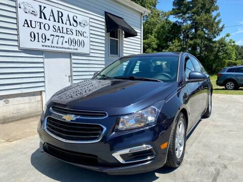 2015 Chevrolet Cruze for sale at Karas Auto Sales Inc. in Sanford NC