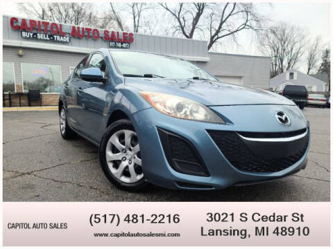 2010 Mazda MAZDA3 for sale at Capitol Auto Sales in Lansing MI