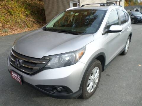 2013 Honda CR-V for sale at AUTO CONNECTION LLC in Springfield VT