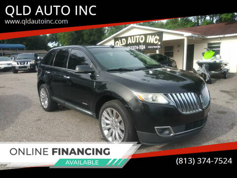 2013 Lincoln MKX for sale at QLD AUTO INC in Tampa FL