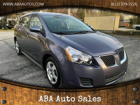 2010 Pontiac Vibe for sale at ABA Auto Sales in Bloomington IN