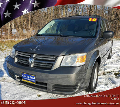 2010 Dodge Grand Caravan for sale at Chicagoland Internet Auto - 410 N Vine St New Lenox IL, 60451 in New Lenox IL