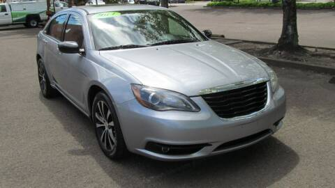 2014 Chrysler 200 for sale at D & M Auto Sales in Corvallis OR