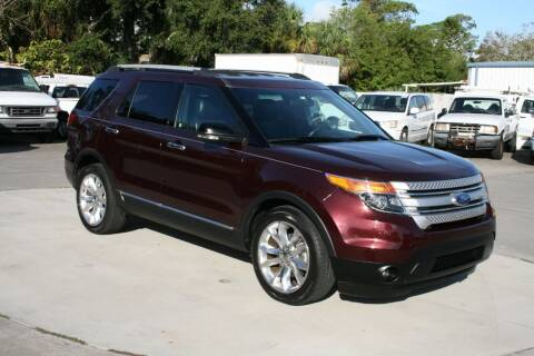 2011 Ford Explorer for sale at Mike's Trucks & Cars in Port Orange FL