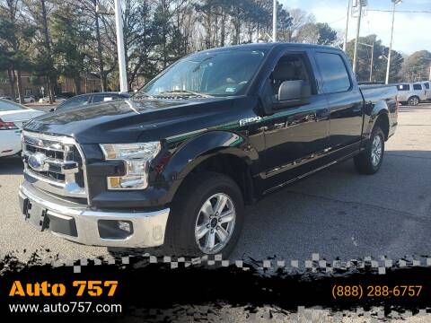 2016 Ford F-150 for sale at Auto 757 in Norfolk VA