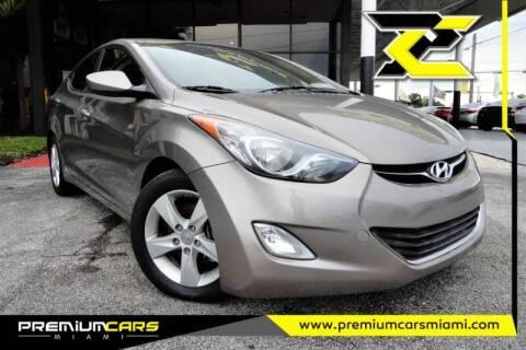 2013 Hyundai Elantra for sale at Premium Cars of Miami in Miami FL