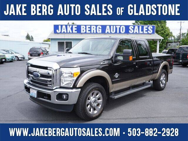 2013 Ford F-250 Super Duty for sale at Jake Berg Auto Sales in Gladstone OR
