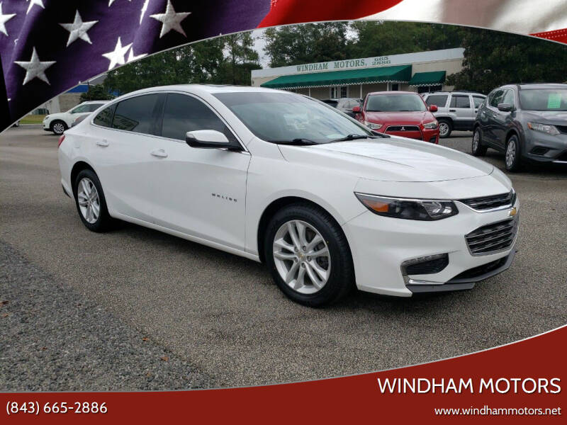2018 Chevrolet Malibu for sale at Windham Motors in Florence SC