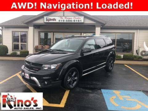 2018 Dodge Journey for sale at Rino's Auto Sales in Celina OH